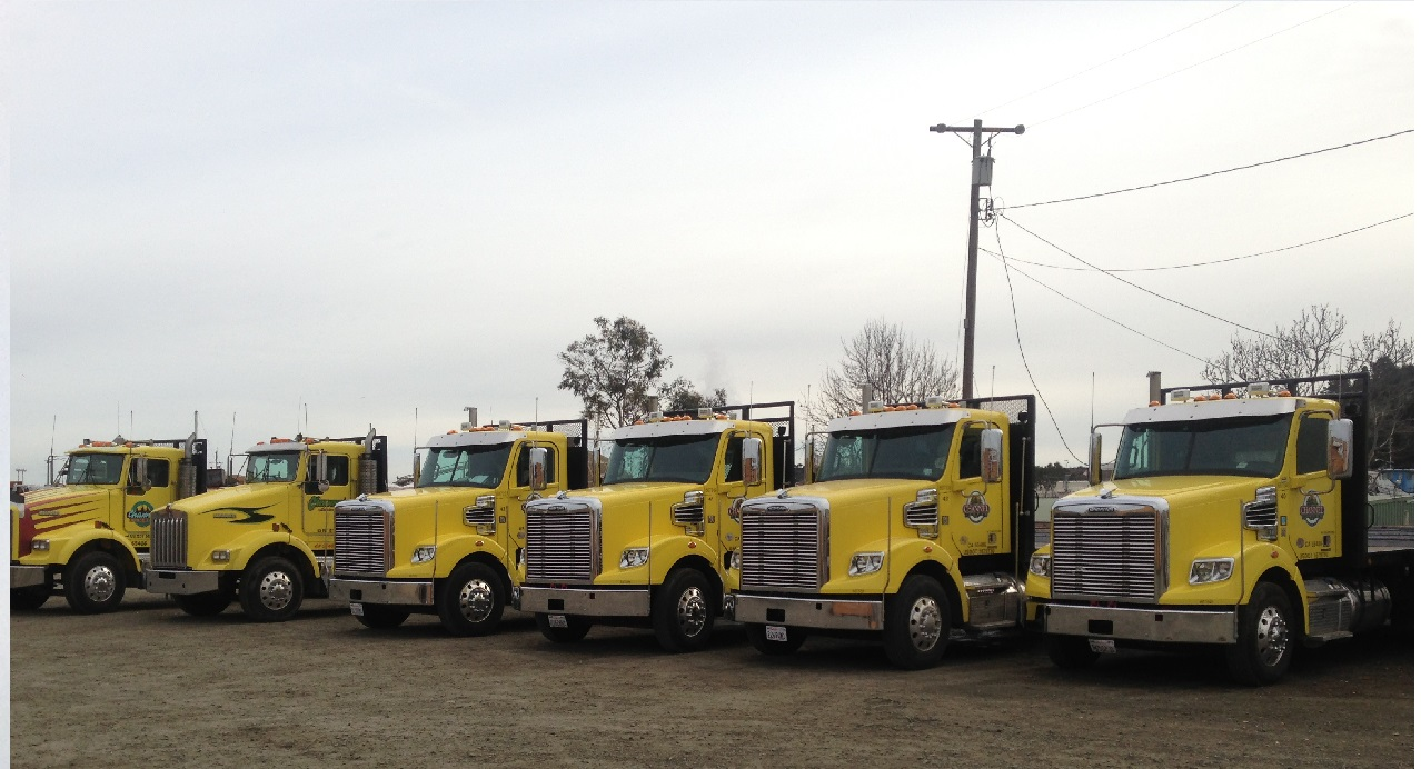 Delivery fleet serving Northern California